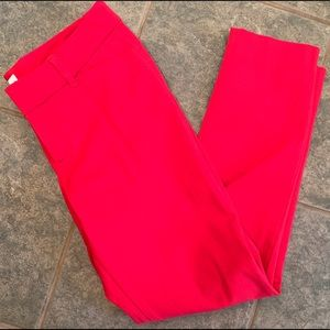 Beautiful red Old Navy Pixie pants.  EUC, size 6